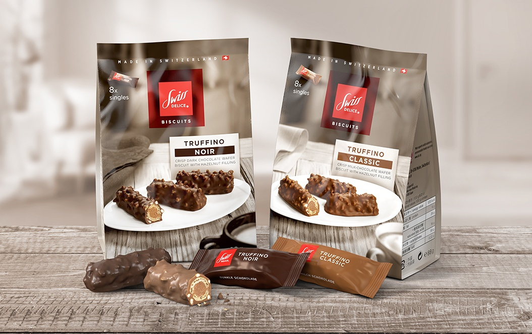 Swiss Delice Truffino Retail Packaging