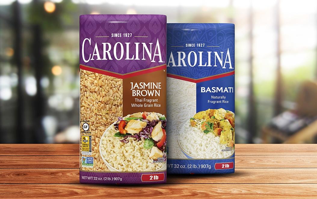 Carolina Rice Retail Box Packaging
