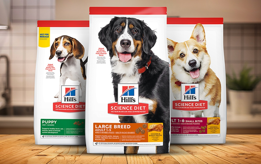 Hill's Science Diet Pet Food Packaging